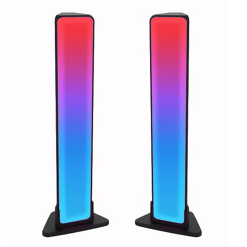 أشرطة إضاءة ذكية ، أشعة إضاءة ليد ذكية مع 8 أوضاع المشهد وأوضاع الموسيقى ، شريط إضاءة ملون بلوتوث للكمبيوتر ، التلفزيون