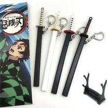 Démon Slayer Kamado Tanjirou boucle doreille clou doreille Cosplay accessoires cadeaux de noël Kimetsu No Yaiba porte-clés
