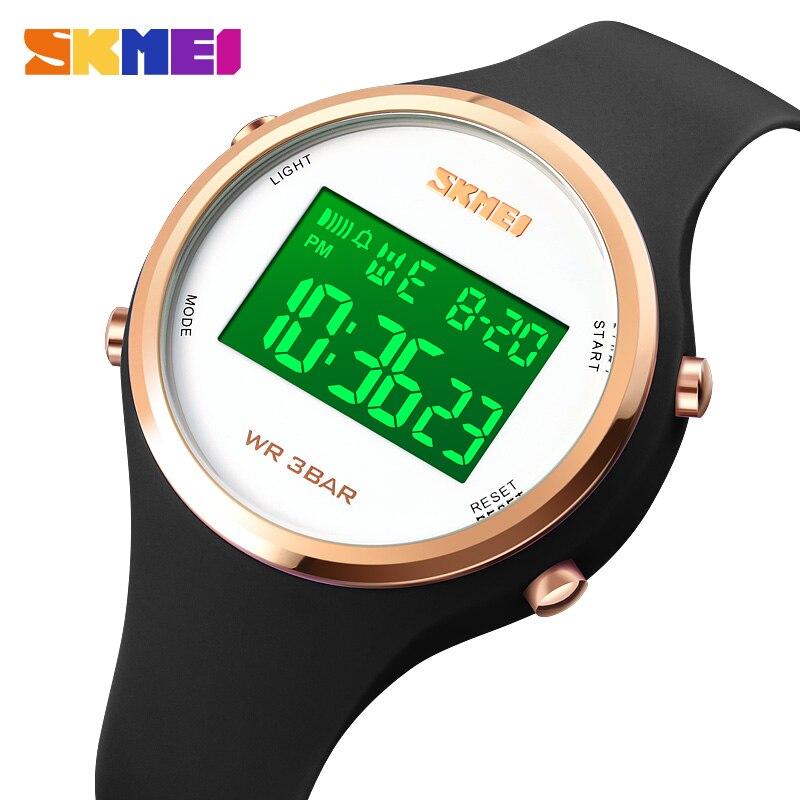 SKMEI Japan Digital movement LED Light Children Watch Stopwatch Sport Watches Waterproof Kids Wristwatch For Boys Girls Clock