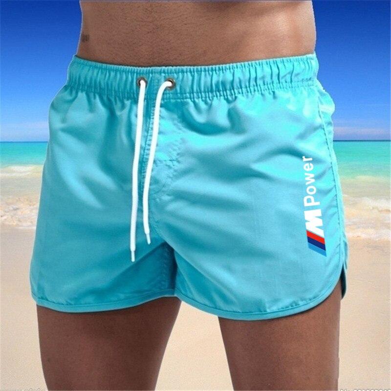 Новинка 2021, Мужской купальный костюм, сексуальная одежда для плавания, мужские шорты для плавания, мужские трусы, пляжные шорты, спортивные ...
