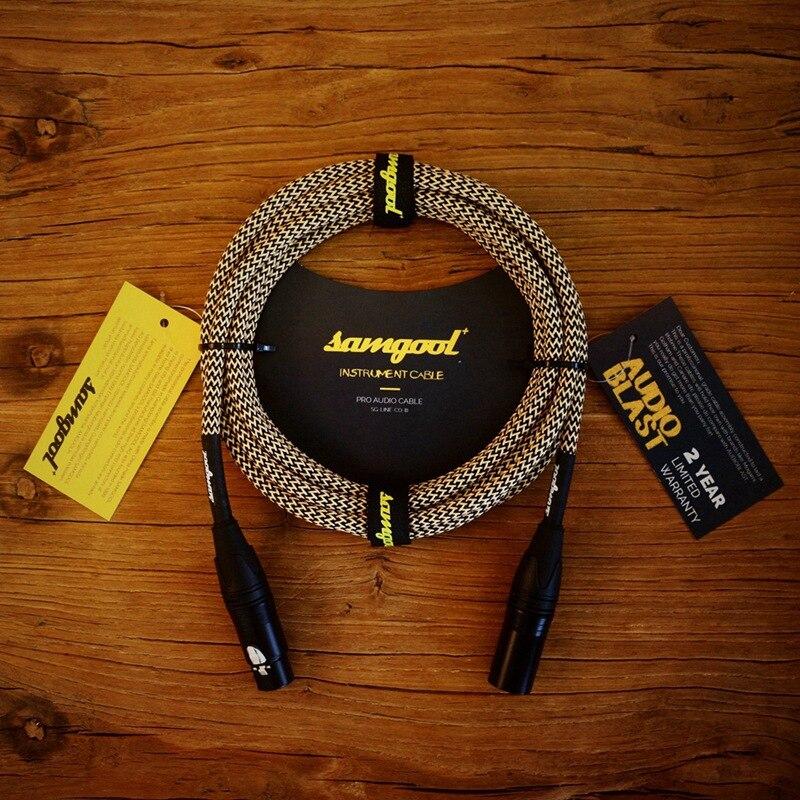Samgool male to female microphone microphone line XLR balanced audio signal line recording plug enlarge