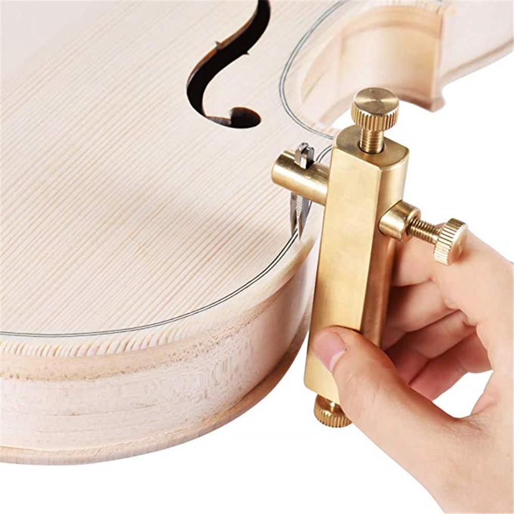 Инструменты для скрипки ИРИН, латунная инкрустация, инкрустированный паз, инструмент для скрипки, аксессуары для музыкальных инструментов