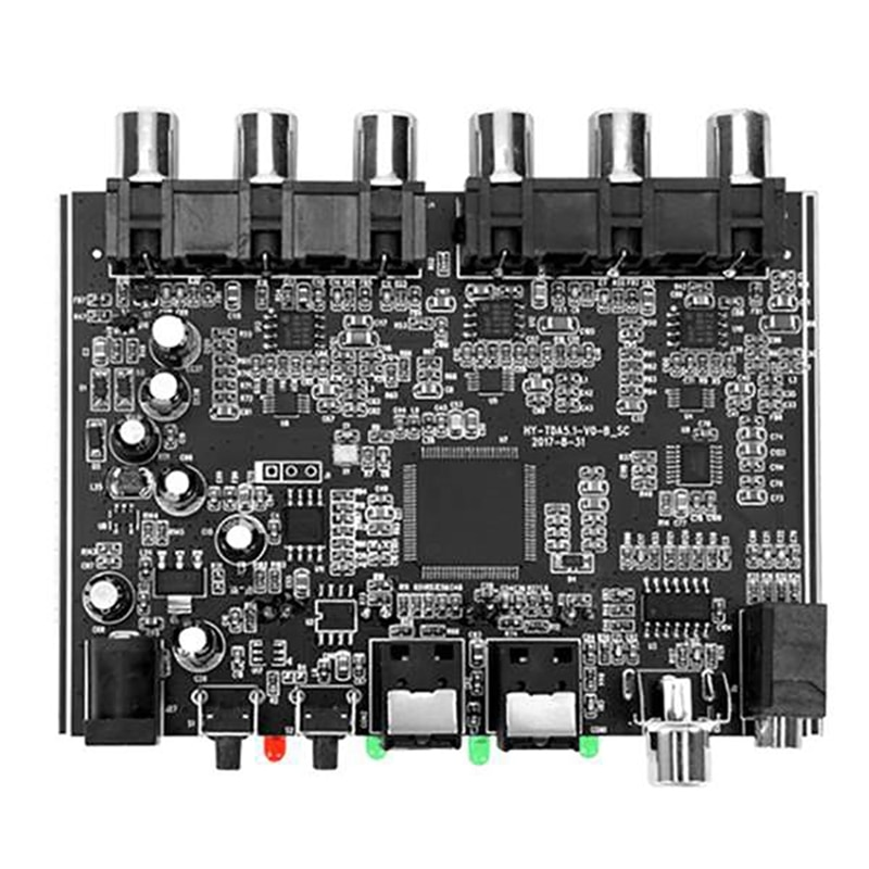 DAC Module 5.1 Channel AC3 PCM Digital Optical DTS RCA HiFi Stereo Audio Home Theater Decoder Amplifier Decoding Board