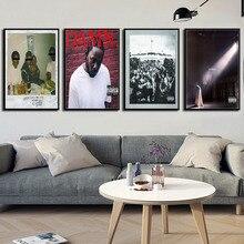 Kendrick Lamar VERDOMME Humble Hot Muziek Albums Cover Hip Hop Rap Muziek Ster Art Schilderen Zijde Canvas Poster Muur Thuis decor No Frame o429