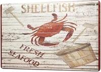 leotie since 2004 tin sign metal plate decorative sign home decor plaques coastal marine wall decoration