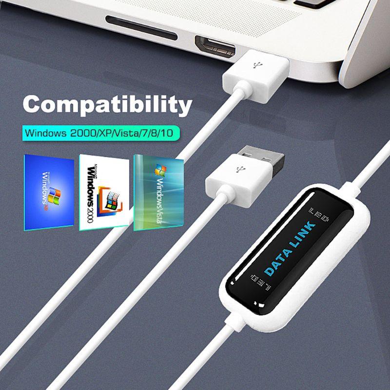 Cable de transferencia de archivos para compartir datos, Cable USB de alta...