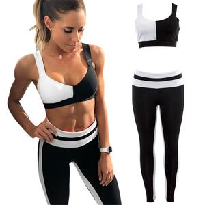 Women's Sportswear Yoga Set Workout Clothes Athletic Wear Sports Fitness Suits Gym Sport Clothing Fitness Clothes For Women
