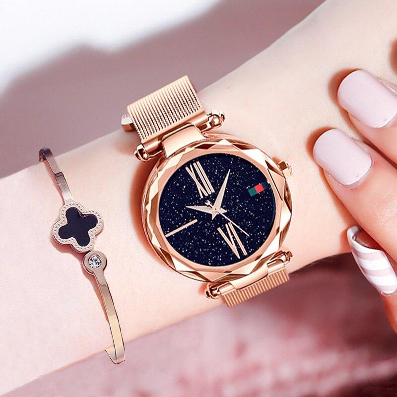 Relojes de cielo estrellado para mujer
