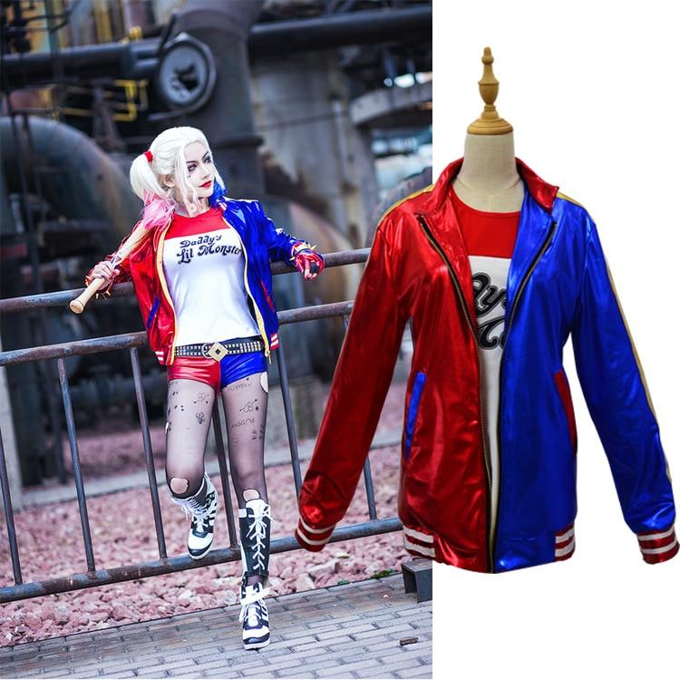 Camiseta del monstruo de Harley Quinn 2016 Harley Quinn Cosplay disfraz Mujer