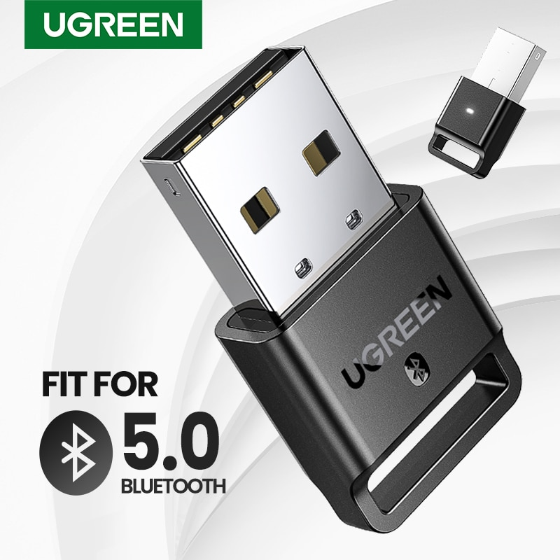 UGREEN USB Bluetooth Dongle Adapter 4.0 for PC Speaker Mouse Music Audio Receiver Transmitter aptx Compatible with Bluetooth 5.0