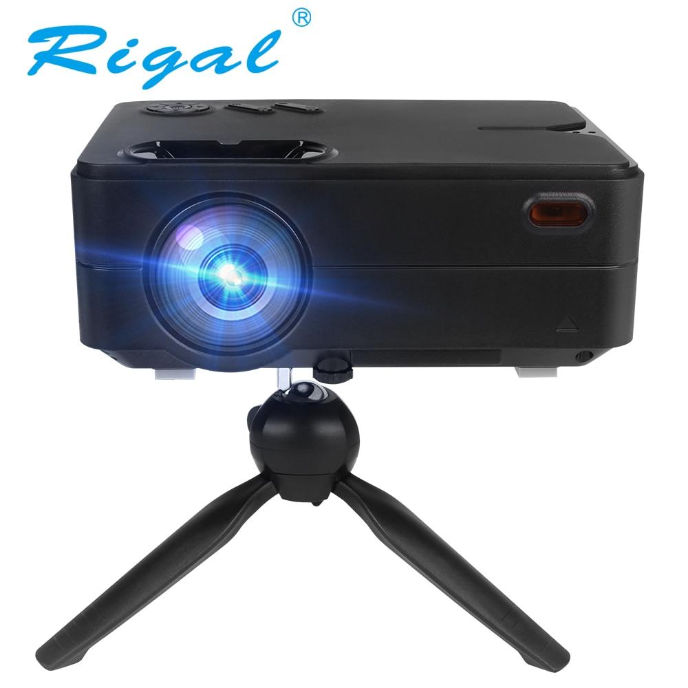 "Rigal, trípode para proyector RD813, Mini trípode de mesa con Soporte para Proyector, tornillo de montaje de 1/4 "", ajuste de trípode de escritorio para proyector RD810 DLP"