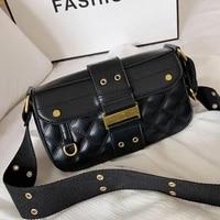 new crossbody bags for women leather shoulder bag luxury brand handbag diamond lattice messenger bag female sac square flap bags