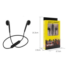 Wireless bluetooth headphones hanging neck sports bluetooth headset stereo music headset call headse