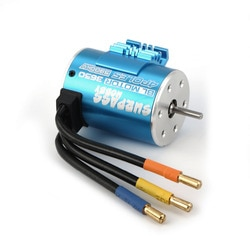 Surpasshobby 3650 2300kv 3.5y 3.175mm motor sem escova para 1/8 rc peças de carro controle remoto diy peças de reposição acessórios
