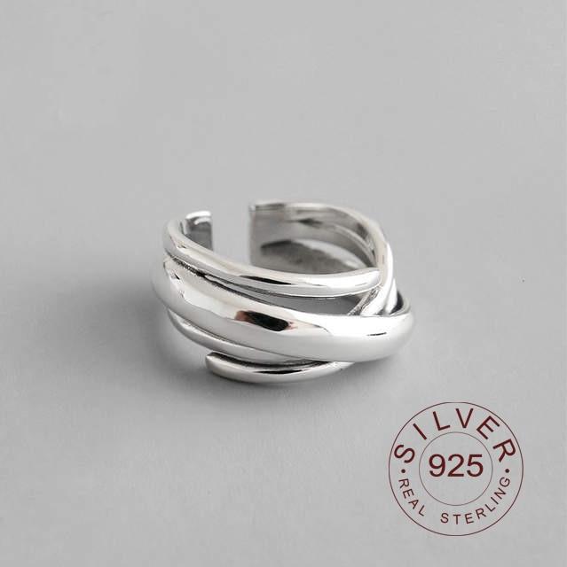 925 anillos de plata esterlina para Mujer, vintage, ajustable, hecho a mano, Bague Femme Argent, Accesorios para Mujer, Moda 2020, joyería fina para fiesta