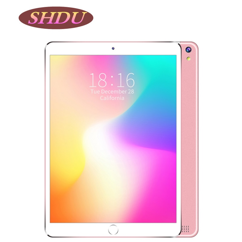 SHDU Tablet 10.1 Inch 3G Phone Dual SIM Tablets Pc Android 7.0 Google Play 4/Quad Core 2GB/32GB IPS Tablet 7 8 9 10 Tablet Pc