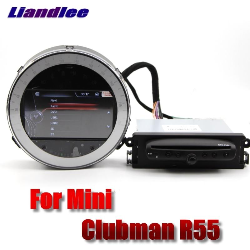 Para Mini Clubman R55 2007 ~ 2014 Liislee reproductor Multimedia para coche NAVI Original estilo coche Radio Estéreo GPS navegación por mapa