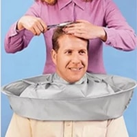 adult haircut clothes haircut cloak breathable three dimensional apron haircut tools waterproof and foldable