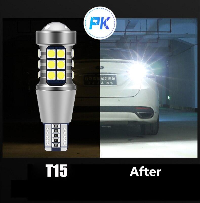 Canbus T15 bombilla LED W16W Luz de reversa para coche para Toyota Corolla, Celica Yaris Camry 4Runner Avalon matriz Prius Highlander RAV4