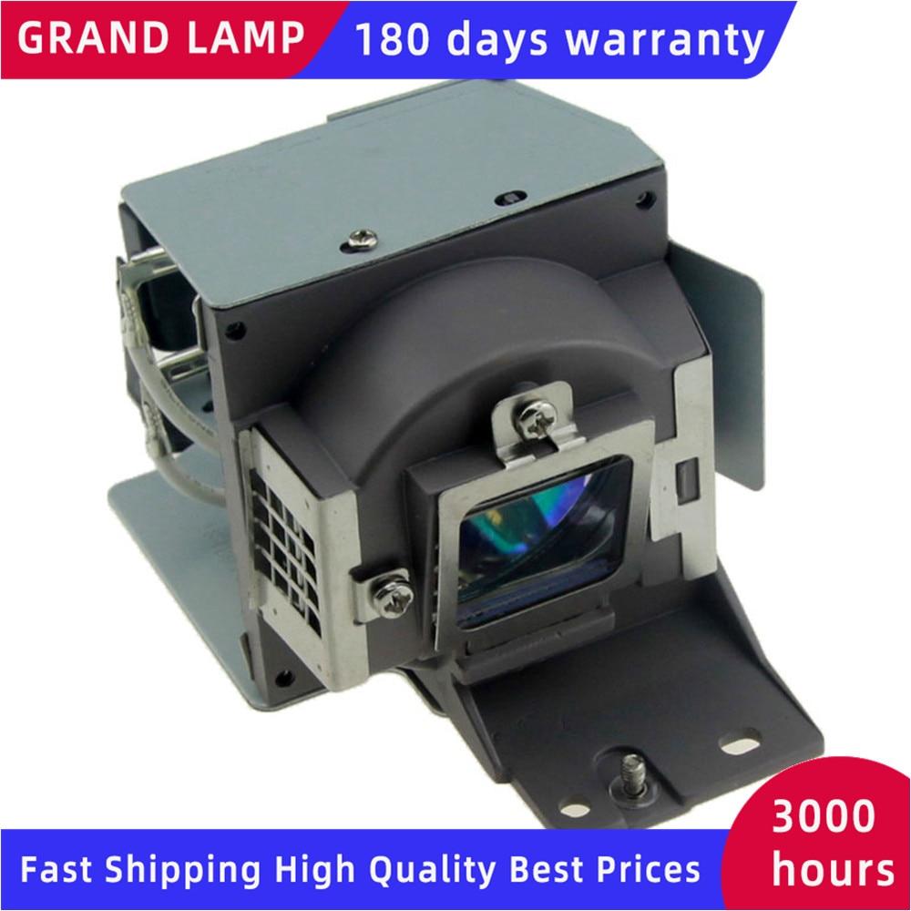 Lâmpada do projetor de substituição com habitação 5j.j8g05.001 para benq mx618st com garantia de 180 dias