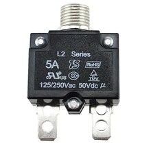 5A/10A/15A/20A/30AMP interruptor de circuito moldeado caso reiniciable protección eléctrica interruptor de aire montaje de Panel térmico