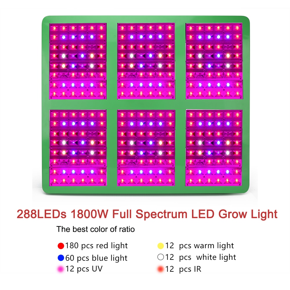 XRYL Full Spectrum Led Grow Light 300W 600W 1200W 1800W Led Plant Growing Lamp Fitolampy For Indoor Plant Grow Tent Complete Kit enlarge
