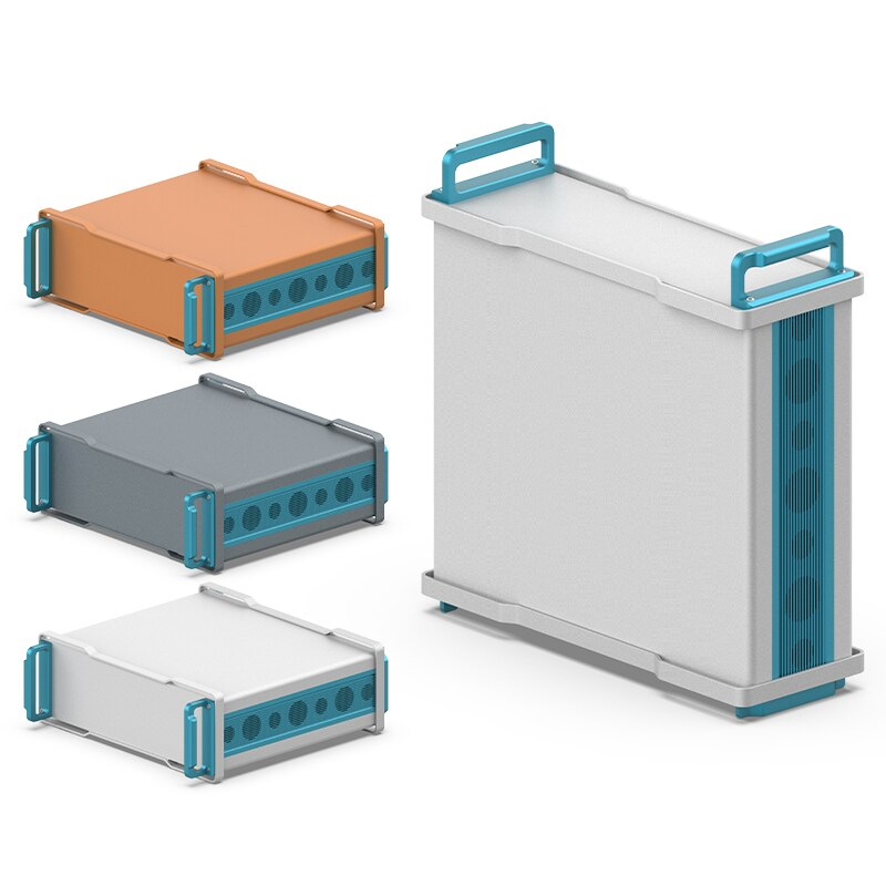 365W132.6H أحدث مشروع حالات الجهد المنخفض الصناعية الأسلاك الإلكترونية بالشاشة الحريرية التخصيص التحكم الضميمة