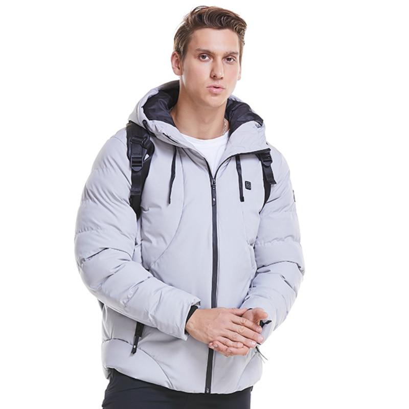 Drop Shipping chaqueta de invierno ropa de hombre 2019 Casual con capucha chaqueta caliente para hombre abrigo de invierno Parka para hombre prendas de vestir exteriores cálido ajuste Delgado 4XL