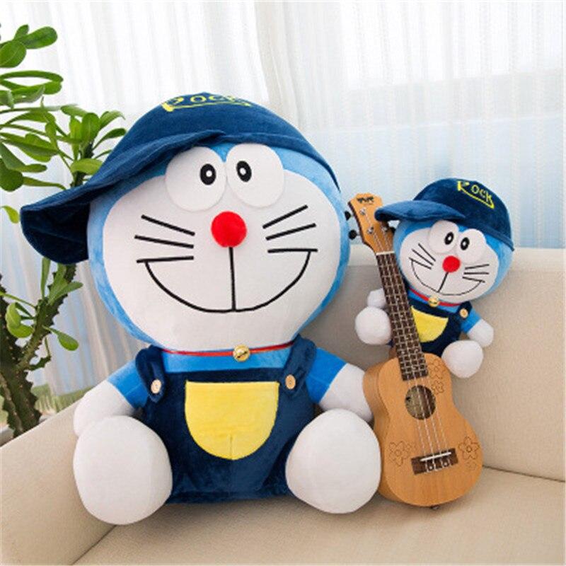 1 pcs30/40/50/60 cm Doraemon peluche muñeca gato niños regalo bebé juguete Kawaii peluche Animal los mejores regalos de felpa para bebés y niñas