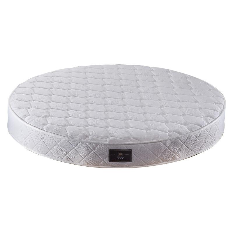 مرتبة دائرية من اللاتكس لسرير فندق منفصل بنوابض 2 -2.2 متر