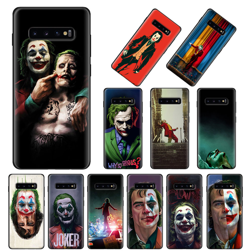 Funda blanda de película Joker para Samsung Galaxy S10 S10e S20 Ultra S8 S9 S10 S20 Plus Note 8 9 10 Plus 5G funda Coque