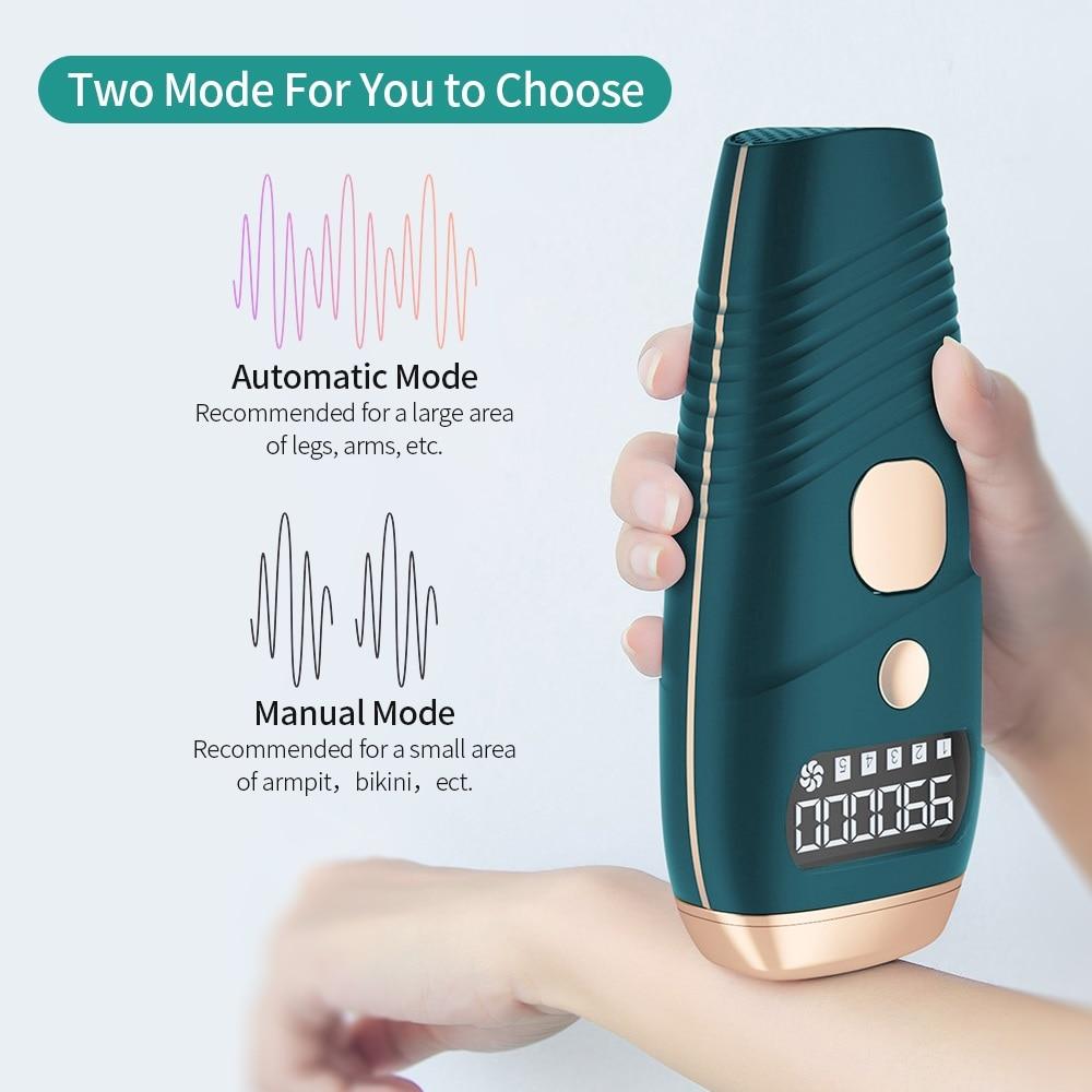 990000 Flash IPL Laser Hair Removal Machine Quartz Lamp Photon Permanent Device 5 Levels Auto Facial Body Hair Trimmer Epilator enlarge