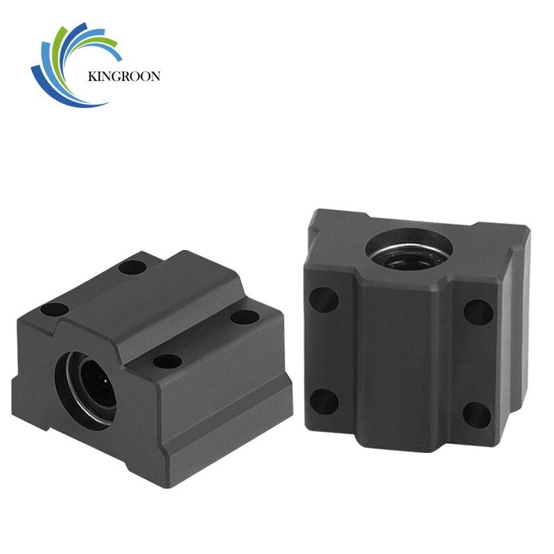 2 шт. SCS8UU POM 8 мм шарикоподшипник линейного движения Подшипник Скольжения Втулка линейный вал для ЧПУ для 3D принтера