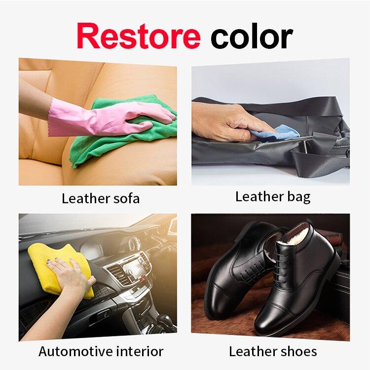 Восстанавливающий кожаный кондиционер HGKJ для автомобильного сиденья, пластиковый Восстанавливающий спрей для восстановления интерьера а...