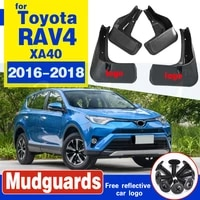 for toyota rav4 2016 2017 2018 set front rear mud flap mudflaps mudguards mud guards flaps splash fender molding car accessories
