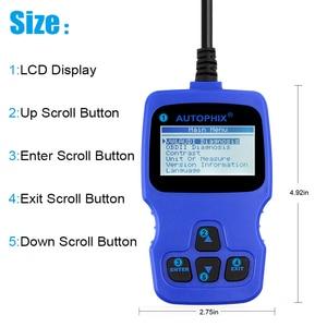 Image 5 - Автомобильный сканер Autophix V007 OBD2, автомобильный диагностический инструмент для Golf 4 // 5/6/7 T5 Polo Passat b5 b6 ABS EPB, инструмент для сброса масла