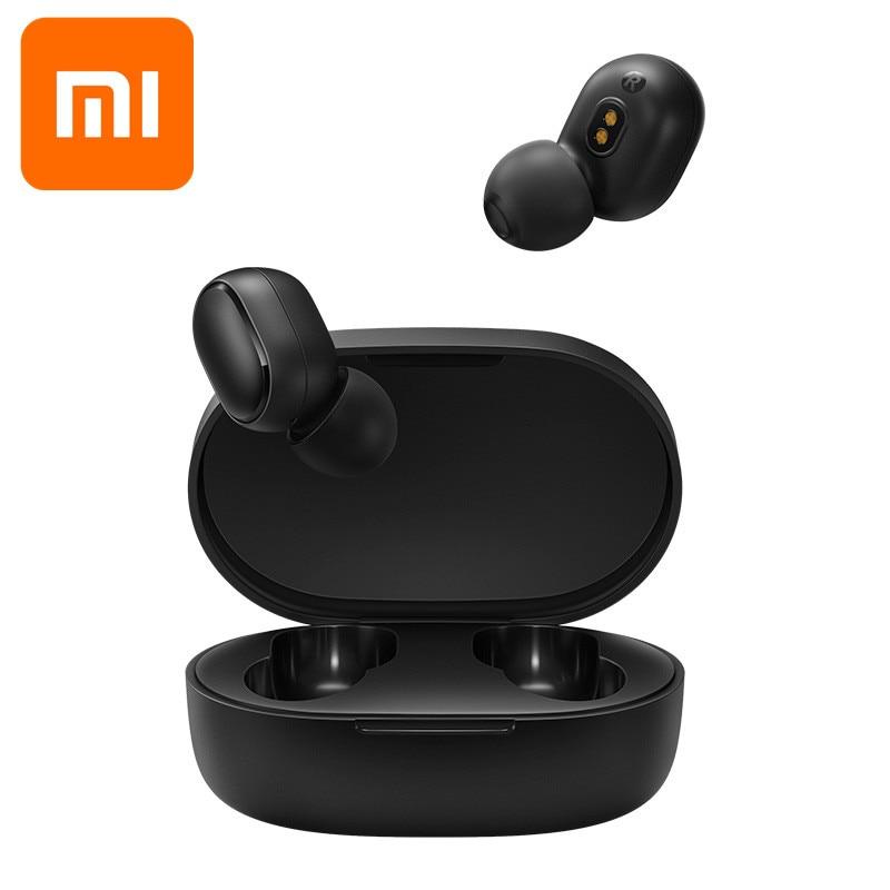 Fones de Ouvido sem Fio Fone de Ouvido Jogos com Microfone Xiaomi Airdots Original Redmi Pro 2 Bluetooth 5.0 Controle Voz s Tws