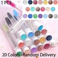 Single Color Rand HighQuality Reusable Crystal Eyelash Makeup Brush Diamond Handle Mascara Wands Eyelash Extension Cosmetic Tool