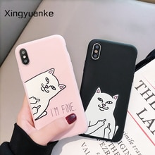 Cute Animal Cat Case For Samsung Galaxy J2 J4 J6 J8 2018 EU Edition J7 Max Plus Duo Note 10 S10 Lite Soft Silicone Case Cover