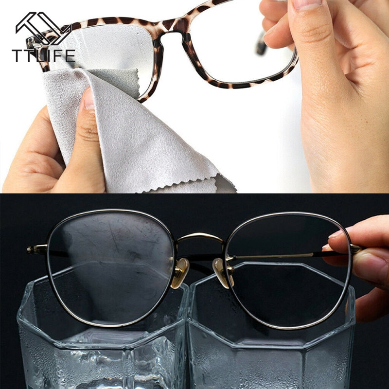 TTLIFE Texile Clean Without Traces Anti-fog Glasses Cloth Lens Anti-fog Cloth for Eyewear Accessorie