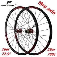 mountain wheel set bicycle wheels 24 hole barrel shaft straight drawn spoke six jaw tower 26 27 5 29 inch 700c frosted