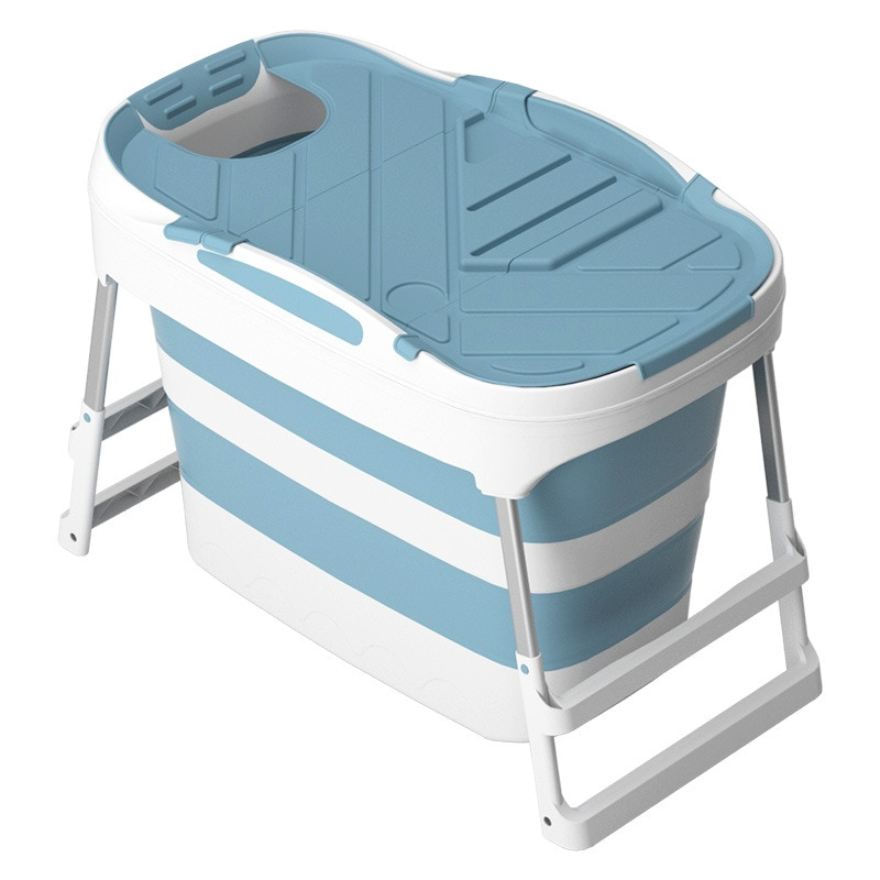 حوض قابل للطي للأطفال بثلاث سرعات قابل للتعديل ، حمام محمول ، وحوض قابل للطي بلاستيكي قابل للطي