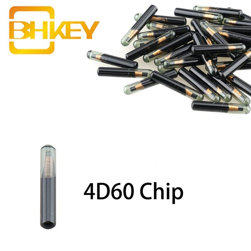 BHKEY 4D60 ID60 Chip de Chip transpondedor para Ford Connect, Fiesta Ka Mondeo ciego de coche llave Chip 4D 60 ID 60 1 Uds