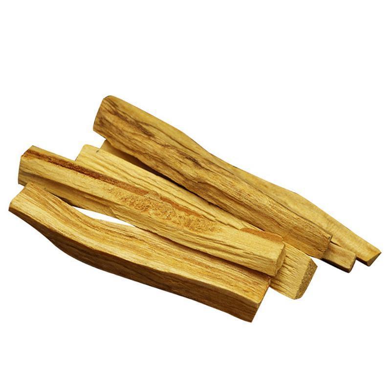 6Pcs /1pc Palo Santo Natural Incense Sticks Wooden Smudging Stick Aromatherapy Burn Wooden Sticks No