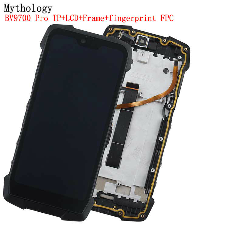 Mythology Original For Blackview BV9700 Pro Touch Screen Display BV9700 Replacment Digitizer 5.84