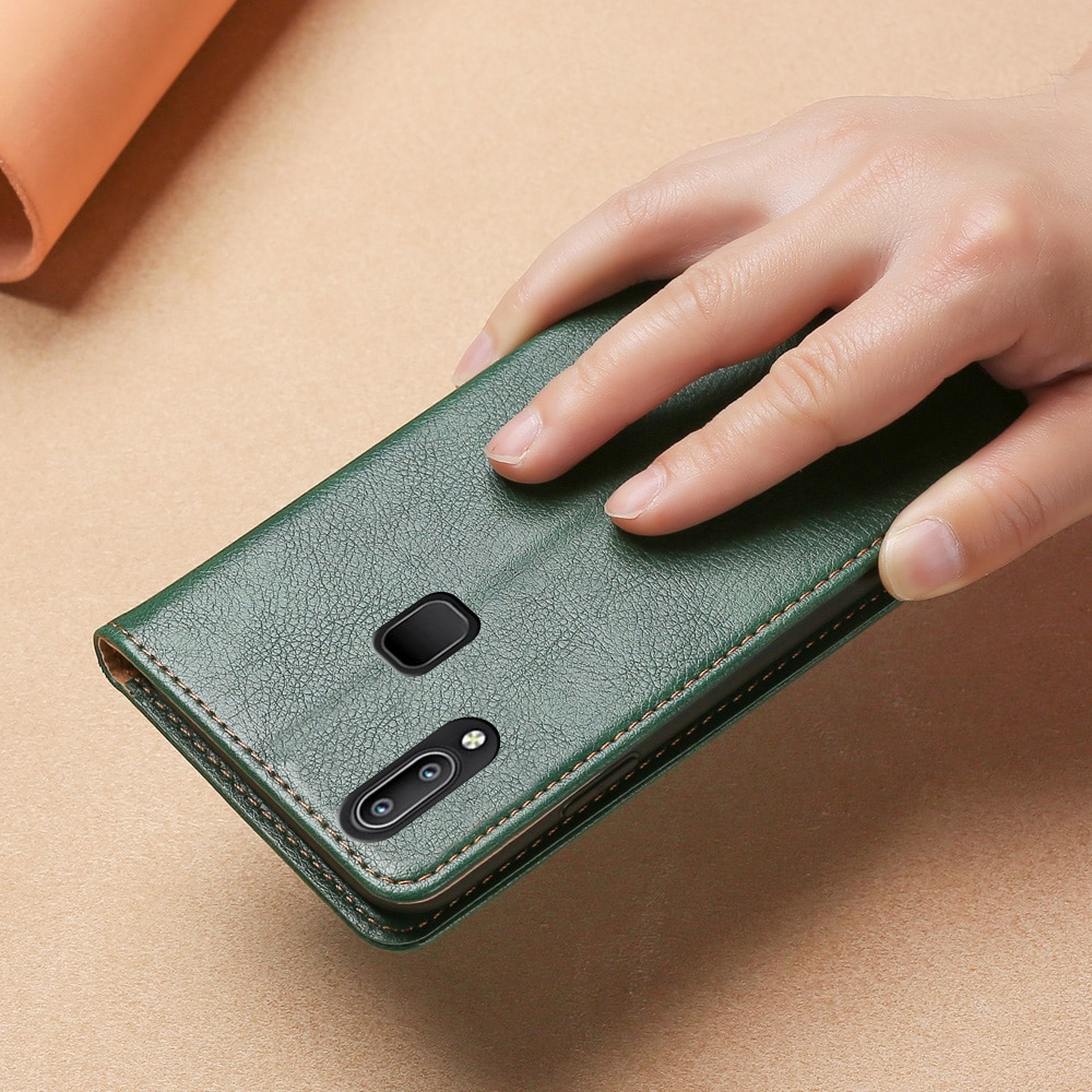 Магнитный чехол для VIVO Y93 have finger Indian edition кожаный накладка из ТПУ Y95 Y91 кошелек