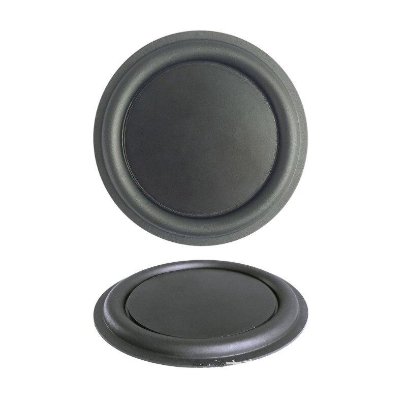 Radiador pasivo de 2 pulgadas, altavoz Woofer de 52mm, placa de vibración para radiador, piezas de reparación de borde de goma para Altavoz Bluetooth Diy 2 uds