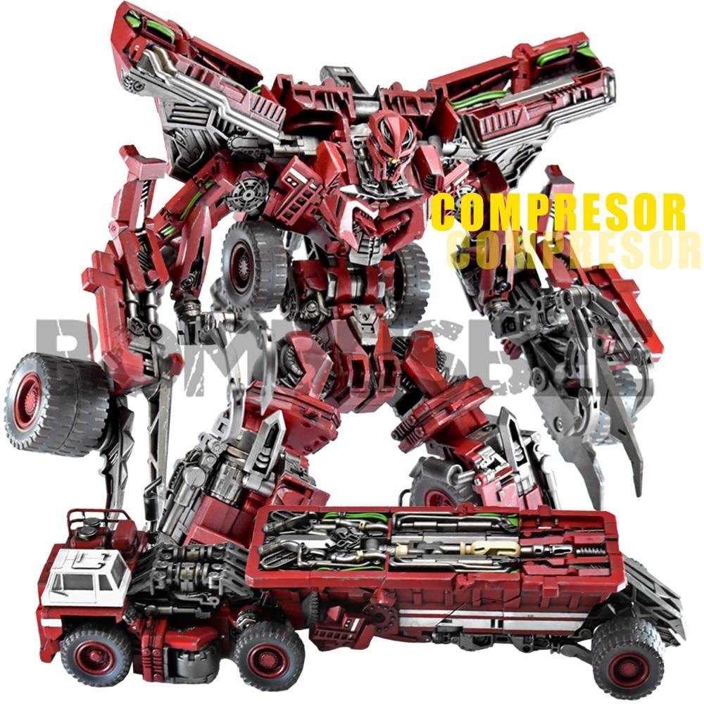【IN STOCK】Action Figure Devil Saviour Transformation Devastator DS-03 Compresor Movie Robot Model Toy Troublemaker Combiner Part