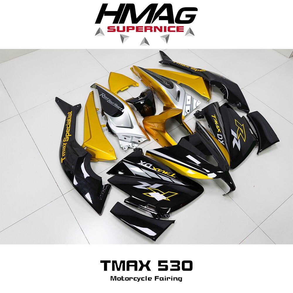 هدية عدة هيكل السيارة ABS دراجة نارية موتو (حقن صب) جديد لياماها TMAX530 T-MAX TMAX 530 2012 2013 2014 12 13 14 15 16