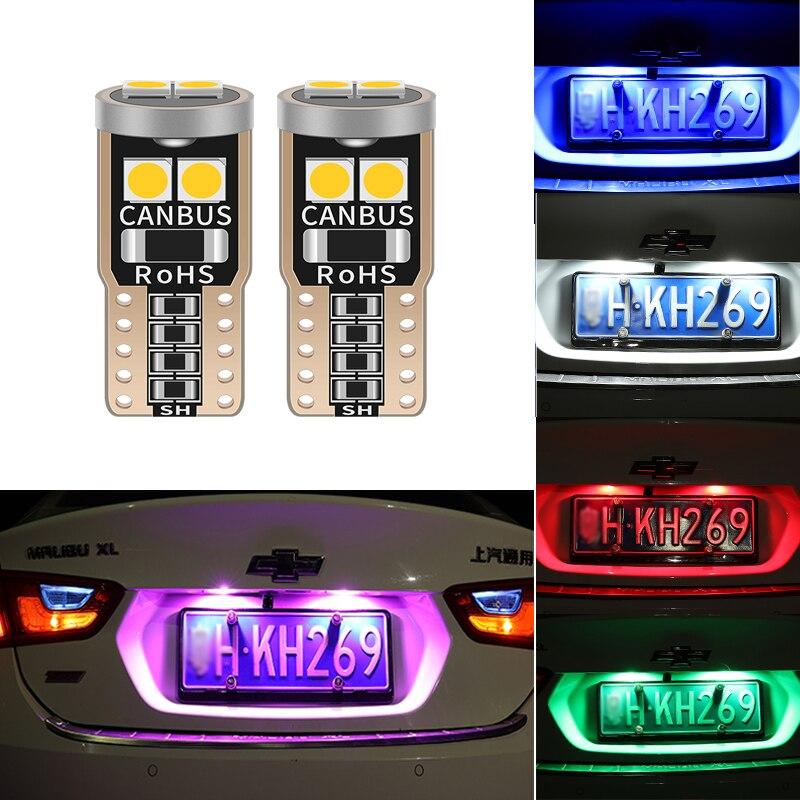 T10 W5W светодиодный CANBUS автомобильный габаритный фонарь для Honda Civic Accord Crv Fit Jazz City Hrv CR-V спойлер Элемент Insight MDX